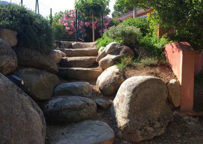 escalier cipponu droit